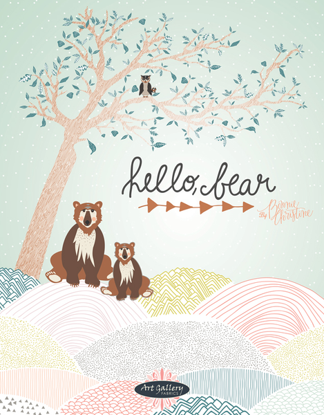Hello Bear by Bonnie Christine - Timberland Trunk (HBR-4437)