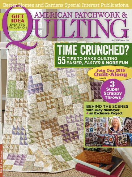 Magazine - American Patchwork & Quilting (April 2015)