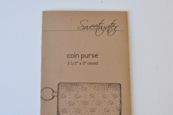 Pattern - Coin Purse, Little Sprout Collection #LS516