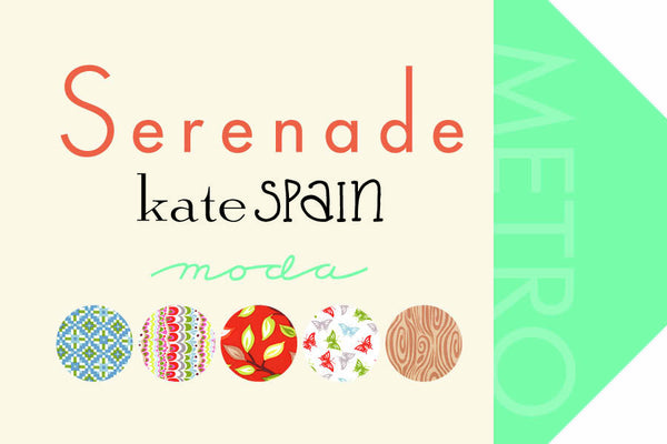 Serenade by Kate Spain- Jelly Roll (27110JR)