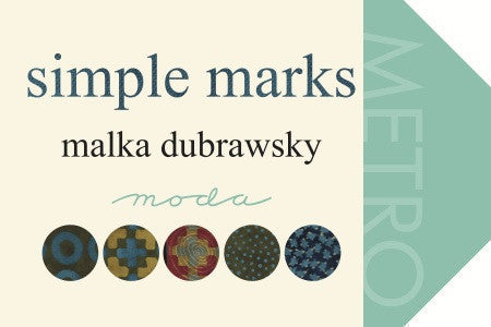Simple Marks by Malka Dubrawsky - Birds Midnight Sky (23227-18)