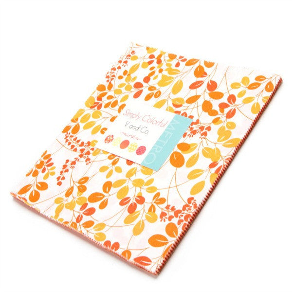Simply Colorful by V and Co. - Junior Layer Cake in Orange (10840JLCO)