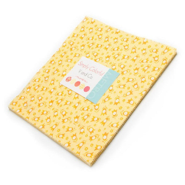 Simply Colorful by V and Co. - Junior Layer Cake in Yellow (10840JLCY)