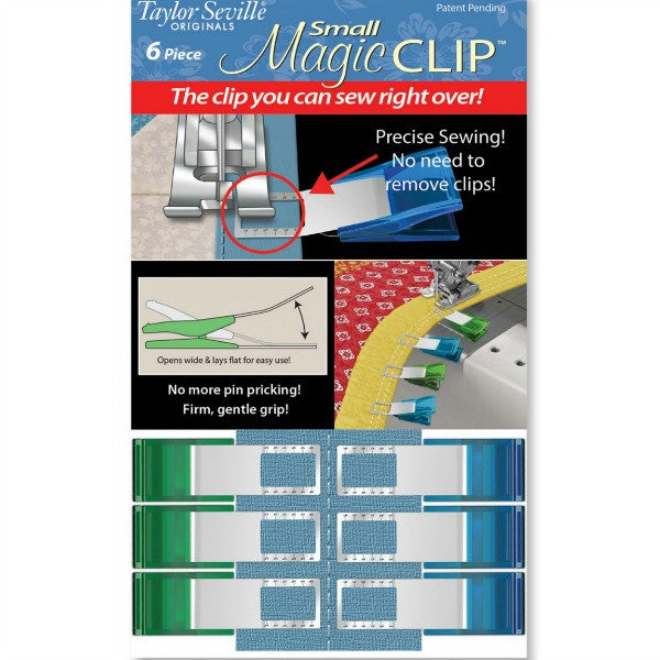 Small Magic Clip - 6 pk