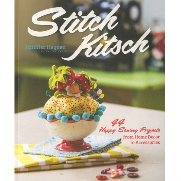 Book - Stitch Kitsch by Jennifer Heynen