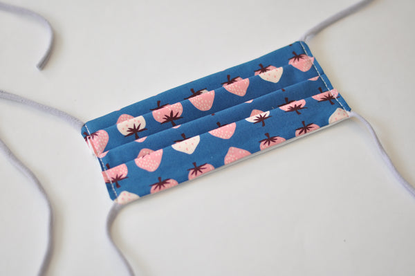 Face Mask - Strawberry Print