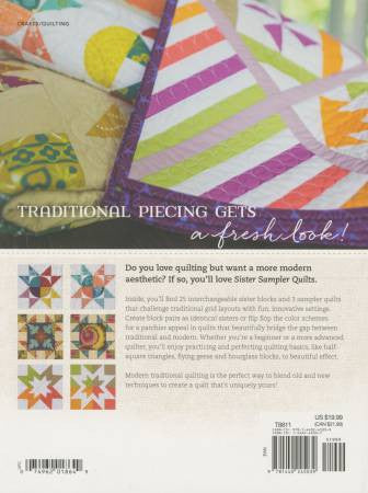 Book - Sister Sampler Quilts by AnnMarie Chany (KR-T8811)