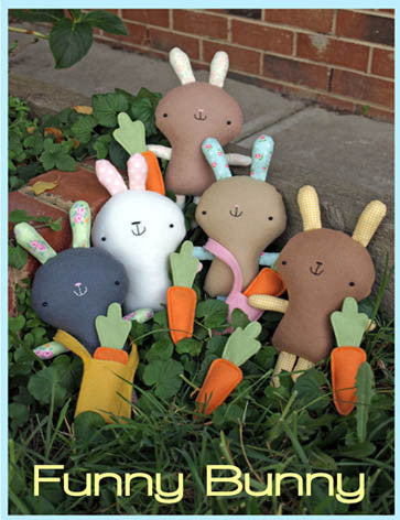 Pattern - Funny Bunny by Two Brown Birds