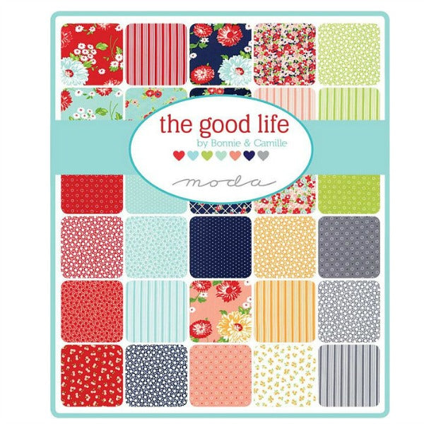 The Good Life by Bonnie and Camille - Dot in Cream (55152-19)