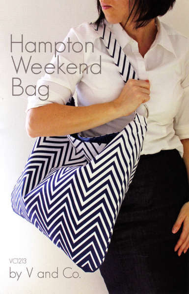 Pattern: Hampton Weekend Bag by V and Co