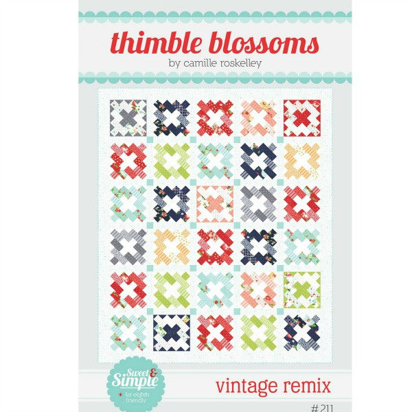 Pattern - Vintage Remix by Thimble Blossoms