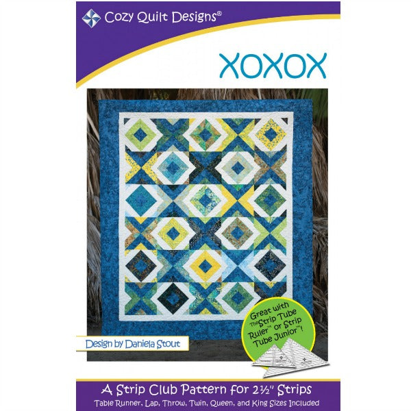 Pattern - XOXOX by Cozy Quilt Designs