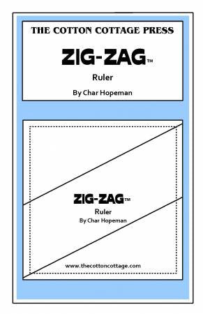 Zig-Zag Ruler by The Cotton Cottage Press