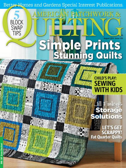 Magazine - American Patchwork & Quilting (August 2014)