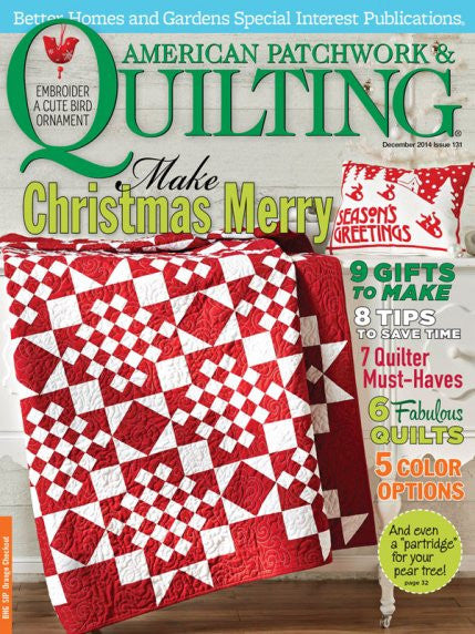 Magazine - American Patchwork & Quilting (December 2014)