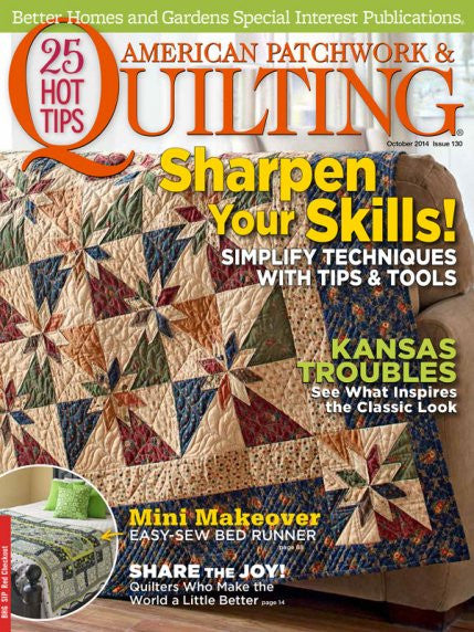 Magazine - American Patchwork & Quilting (October 2014)