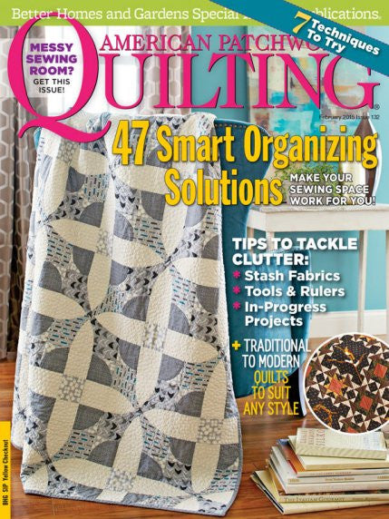Magazine - American Patchwork & Quilting (February 2015)