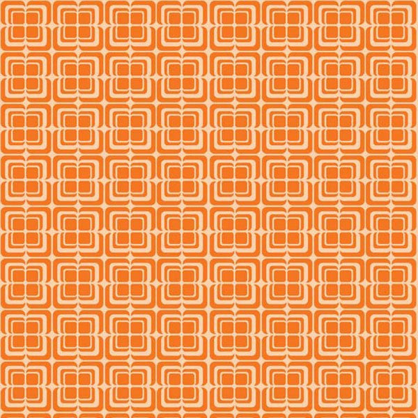 Ashbury Heights by Doohikey Designs - Deco Orange (C3346-ORANGE)