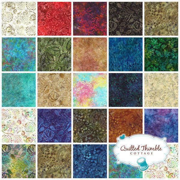 Color Splash Batiks by Moda Fabrics - Citrus (4321-50)
