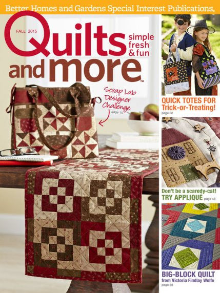 Magazine - Quilts and More (Fall 2015)