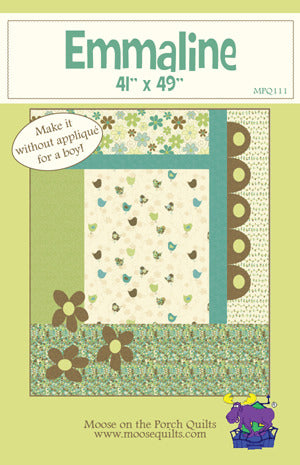 Pattern - Emmaline by Moose on the Porch Quilts (MPQ111)