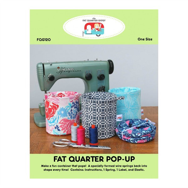 Fat Quarter Pop-Up by The Fat Quarter Gypsy (FQG120)