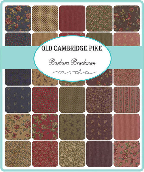 Old Cambridge by Barbara Brackman - Jelly Roll (8320JR)