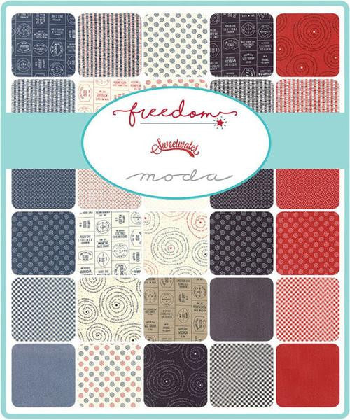 Freedom by Sweetwater - True Blue in Apple Red (5647-21)