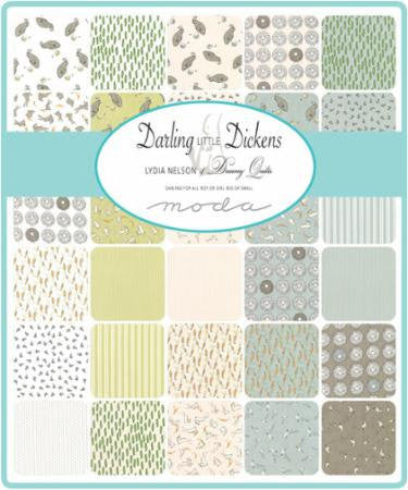 Darling Little Dickens by Lydia Nelson - Honey Bees in Puddle (49006-16)