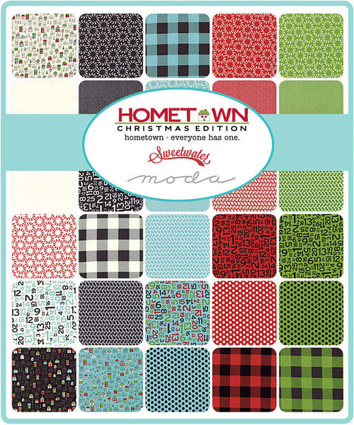Hometown Christmas Edition by Sweetwater - Fat Quarter Bundle (5660AB)
