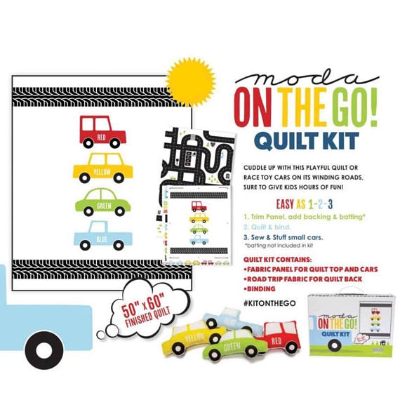 On the Go Kit by Moda (KITONTHEGO)