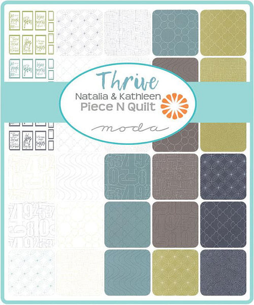 Thrive by Natalia & Kathleen of Piece N Quilt - Space Rind in Off White (10902-21)