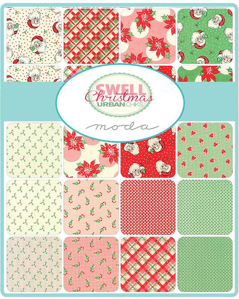 Swell Christmas by Urban Chiks - Santas in Red (31120-13)