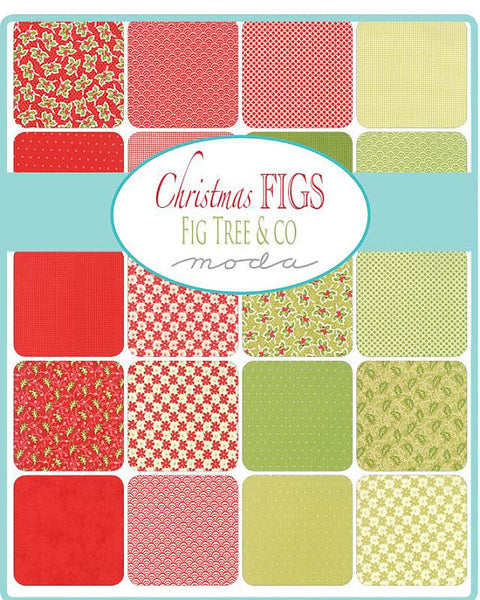 Christmas Figs by Fig Tree - Charm Pack (20310PP)