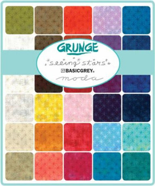 Grunge Seeing Stars by BasicGrey - Charm Pack (30148PP)