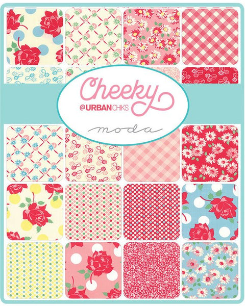 Cheeky by Urban Chiks - Daisy Chain in Blue Raspberry and Sweet Cream (31141-21)