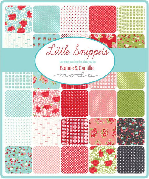 Little Snippets by Bonnie and Camille - Measure Twice in Coral and Cream (55181-13)