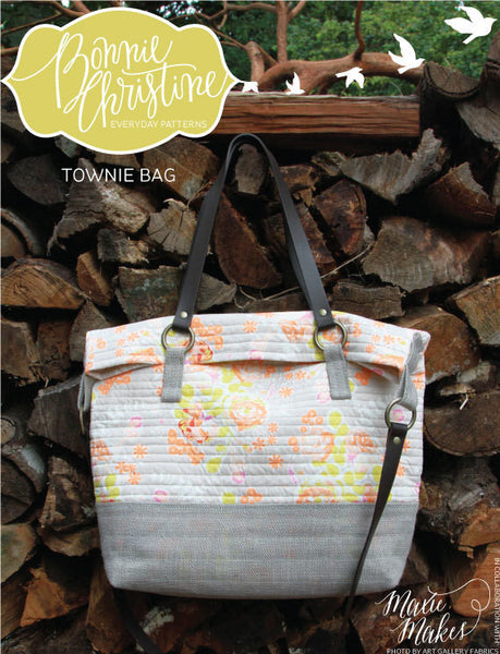 Pattern - Townie Bag by Bonnie Christine