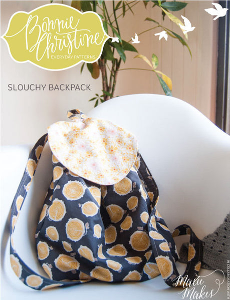 Pattern - Slouchy Backpack by Bonnie Christine
