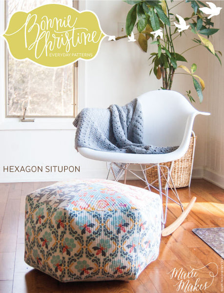 Pattern - Hexagon Situpon by Bonnie Christine