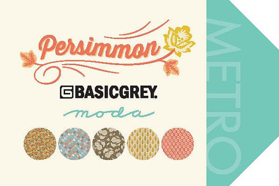 Persimmon by BasicGrey - Gingersnap in Golden Delicious Tart (30385-14)