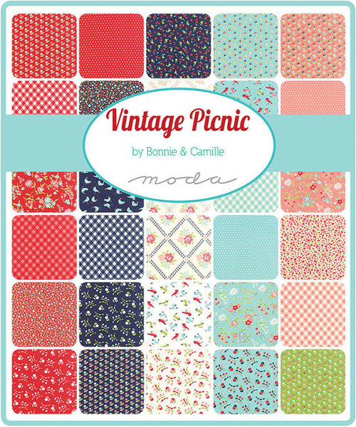 Vintage Picnic by Bonnie and Camille - MINI Charm Pack (55120MC)