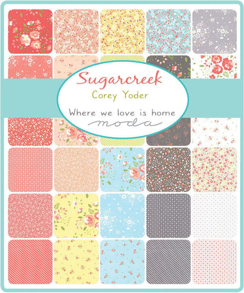 Sugarcreek by Corey Yoder - Ditzy in Rosy (29075-11)