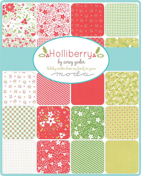 Holliberry by Corey Yoder - Poinsettia in Scarlett (29090-12)