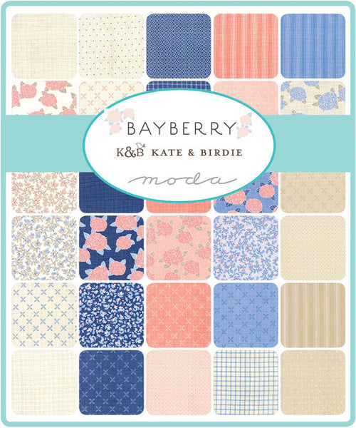 Bayberry by Kate and Birdie Paper Co - Check in Dusk (13164-16)