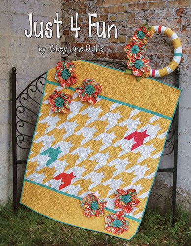 Book - Just 4 Fun by Abbey Lane Quilts
