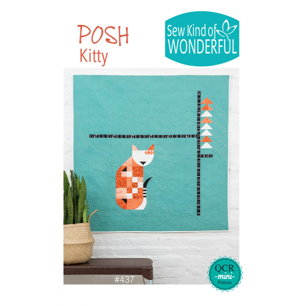 Posh Kitty by Sew Kind of Wonderful (SKW437)