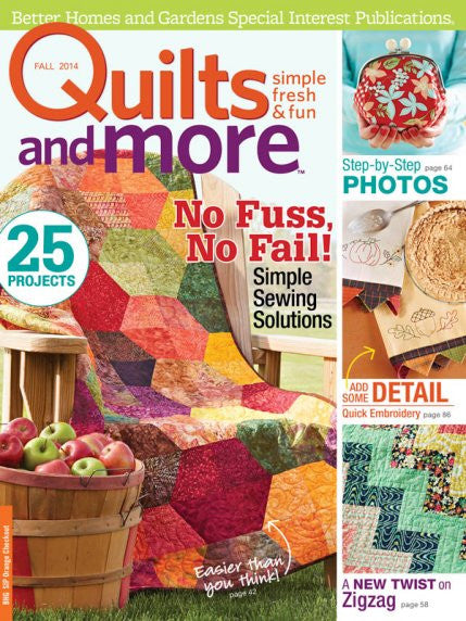 Magazine - Quilts and More (Fall 2014)