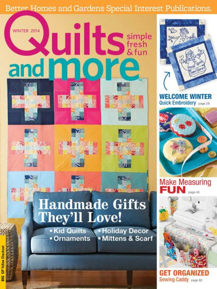 Magazine - Quilts and More (Winter 2014)