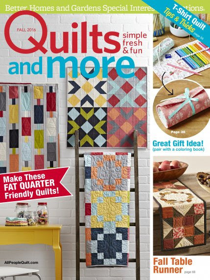 Magazine - Quilts and More (Fall 2016)